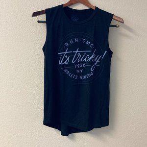 "Run DMC Sleeveless Tour Shirt ""It's Tricky"" SM"